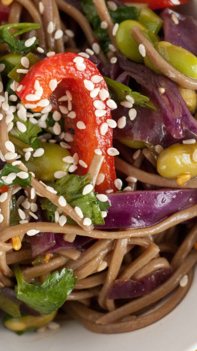 More like this: veggie salads , soba noodles and noodles .