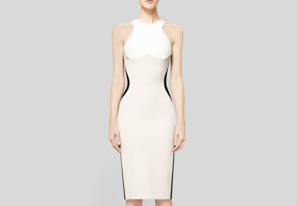 Optical illusion dress vintage modern pinterest