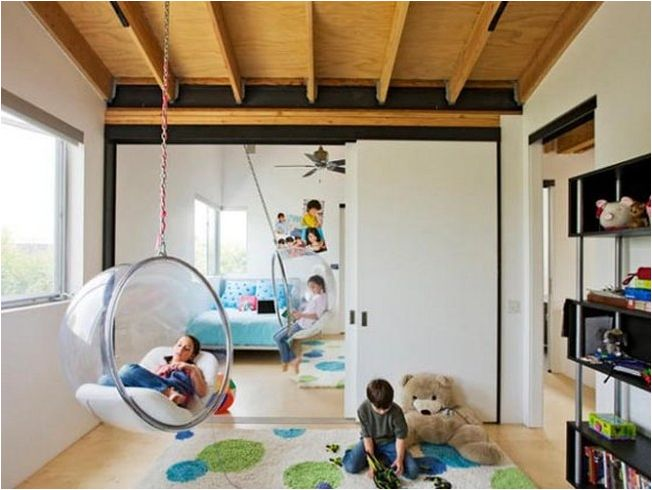 Hanging Bubble Chairs for Bedrooms for Kids