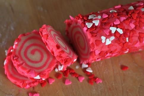 Valentine Sugar Cookies. | yum | Pinterest