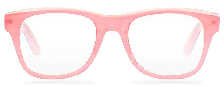 Warby Parker blush-pink glasses ($95)