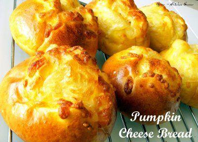 Pumpkin Cheese Buns   ~ Breads, Buns, Rolls & more....Mmmm ~   Pinter ...