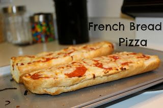 French Bread Pizza is the best thing evvvverrrr