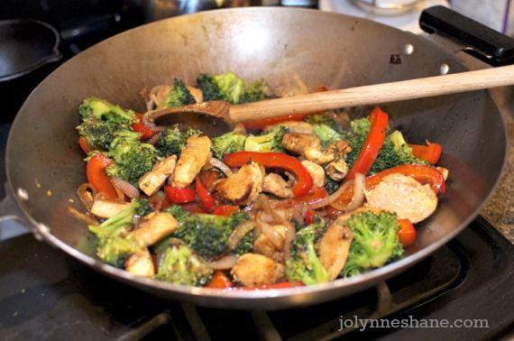 Asian Chicken Stir Fry | Recipe