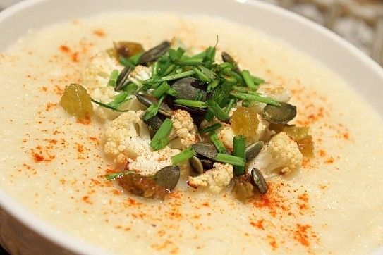 roasted cauliflower soup | Tummy Yummies {Soup} | Pinterest