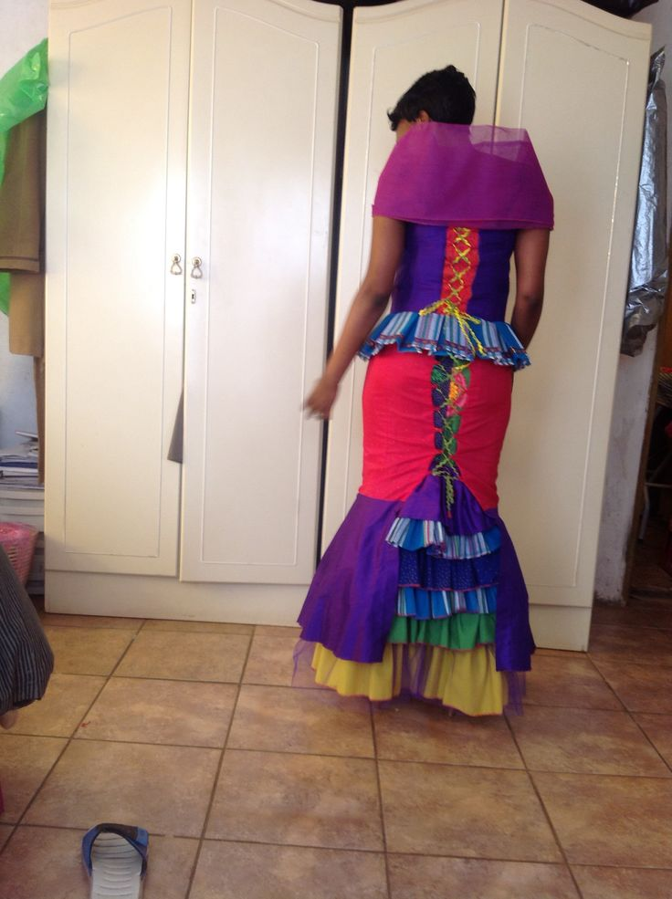 Ndebele Modern Wedding Dress : Contemporary tsonga fashion and design