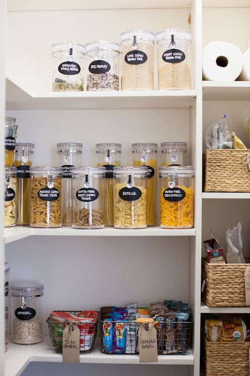 pantry pantry ideas kitchen pantry food containers clear storage
