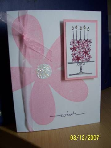 Stampin Up Blooming with Happiness and Big Blossom
