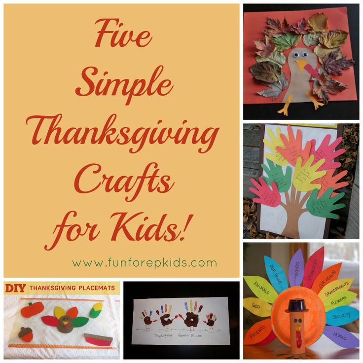 thanksgiving crafts for kids kids pinterest