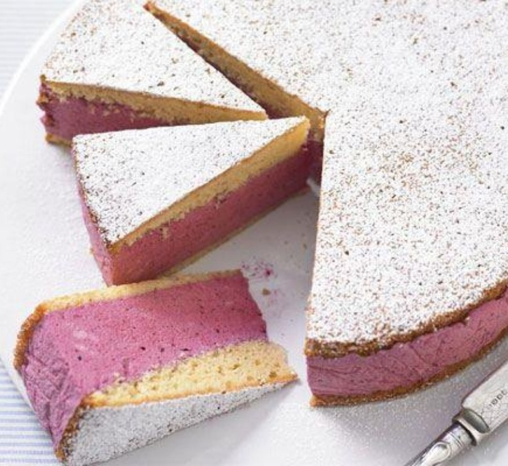 Iced berry mousse cake | Tomorrow's Table | Pinterest