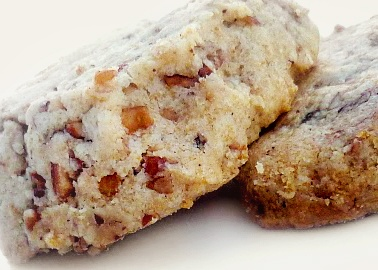 Brown Butter Pecan Shortbread - Sprinkled with Flour