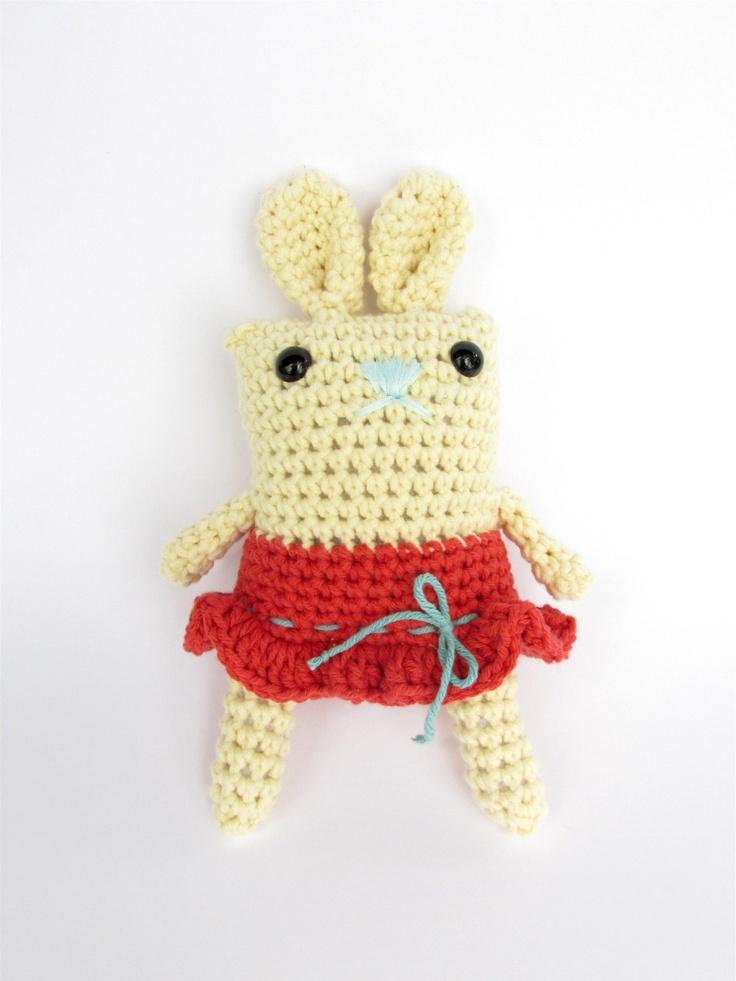 Amigurumi Spring Bunny : Crochet Amigurumi Easter Bunny Spring/Easter Pinterest