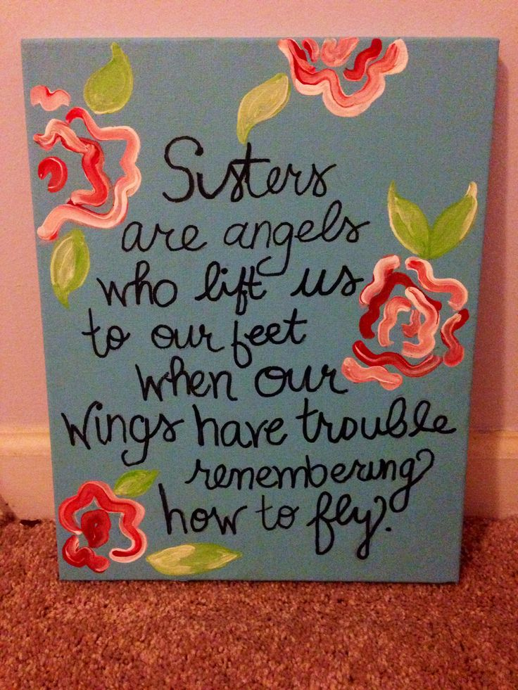 Sorority craft i made for my little sigma alpha iota for Sorority crafts for little