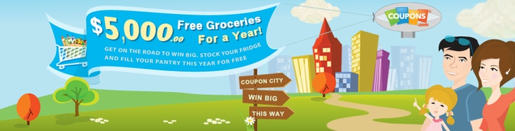 Like us on Facebook and enter our $5,000 Grocery Giveaway! That's like FREE groceries for a year!