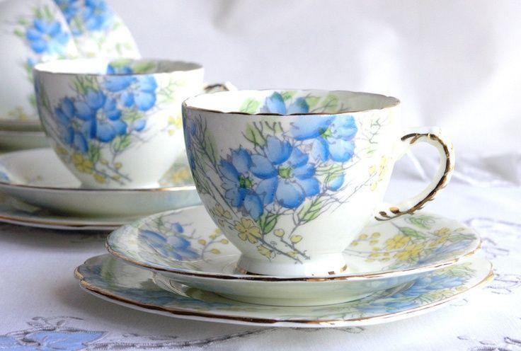 Oh So Adorable Vintage Tea Set : Bing tea cups photos  Antique Tea Set - Bing Images  TEA CUPS