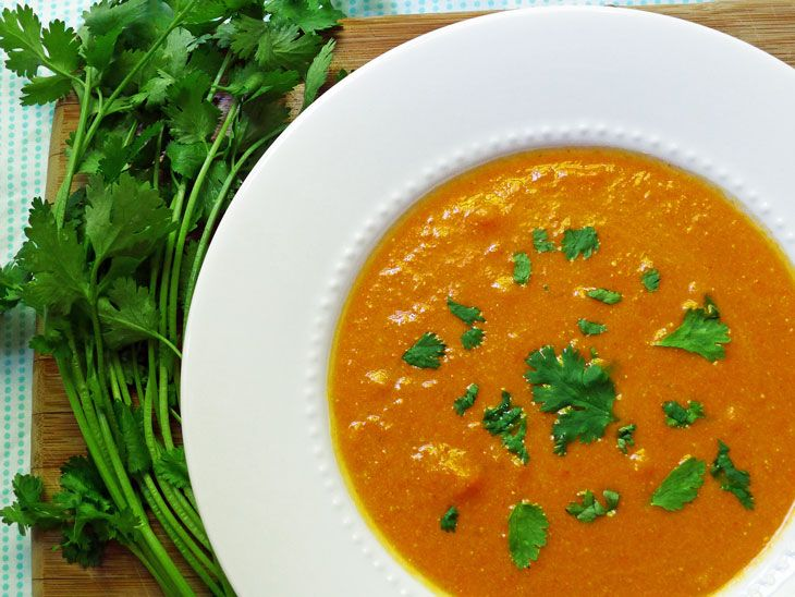 Spiced Carrot Soup | Food: Soup | Pinterest