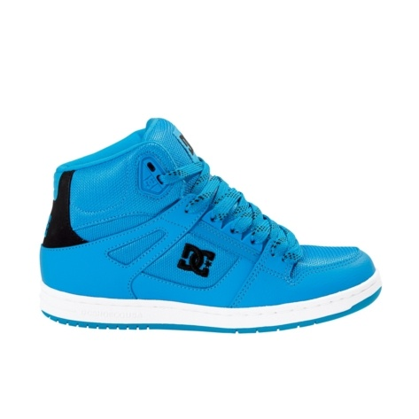 Shop for Womens DC Rebound Hi Skate Shoe in Turquoise at Journeys