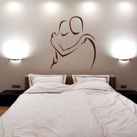 Sticker tête de lit  Idées déco  Pinterest