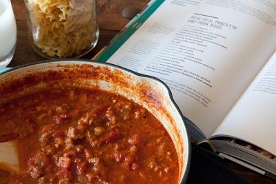 Aida's Real Deal Pork and Pancetta Ragú | Yummy Food | Pinterest