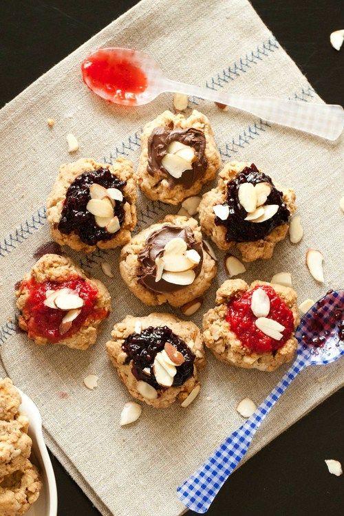 gluten free amp vegan thumbprint cookies passports amp pancakes
