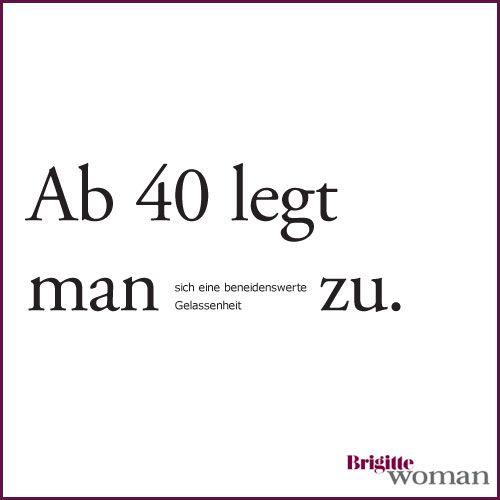Brigitte Woman German Sayings Pinterest 40th Birthday Happy