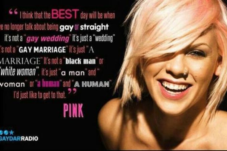 fabulous quote by pink quotes from pink alecia moore