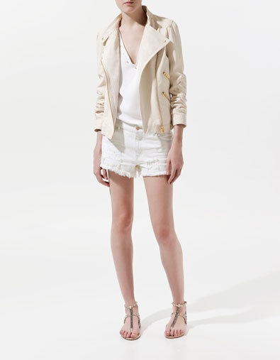 LEATHER JACKET - Blazers - Woman - ZARA United States