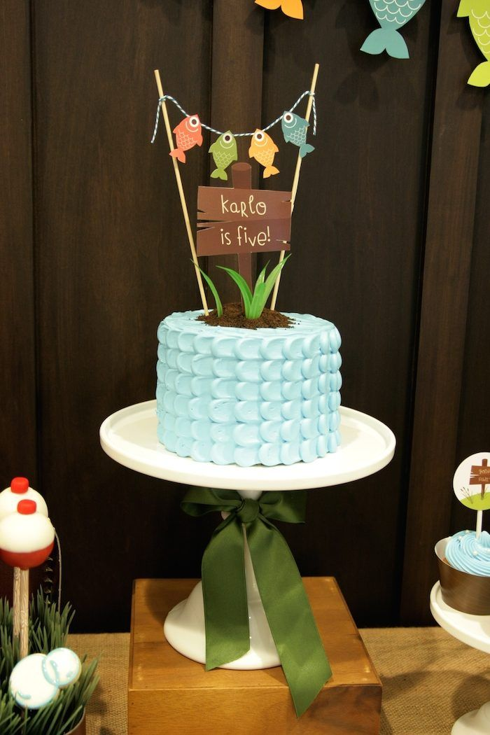 Gone fishing themed birthday party decor ideas planning for Fish birthday party