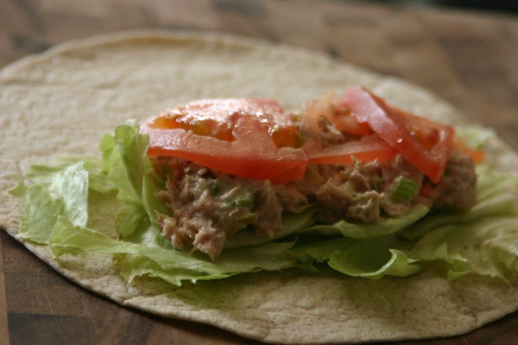 Tuna salad wraps | RECIPES: SANDWICHES | Pinterest