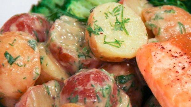 Creamy Herb Potato Salad | Steven and Chris | This delicious recipe ...