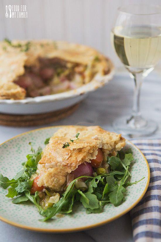 Spring Vegetable Chicken Pot Pie | Yummy/Chicken | Pinterest