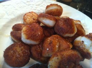 Seared Scallops with Herb-Butter Pan Sauce