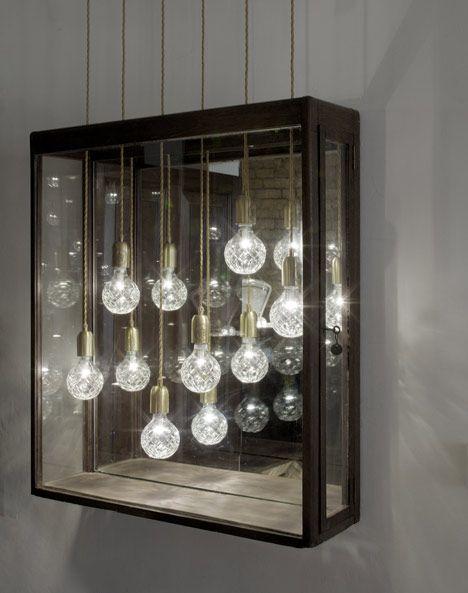 Crystal Bulb Shop by Lee Broom