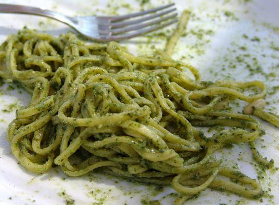 Basil pesto, parsley pesto, arugula pesto!