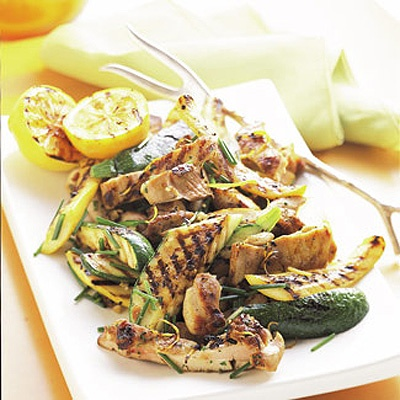 grilled summer squash and chicken (use boneless chicken breast instead ...
