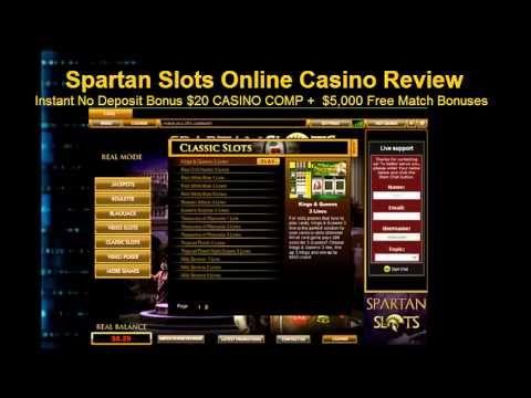 free slot sign up bonus