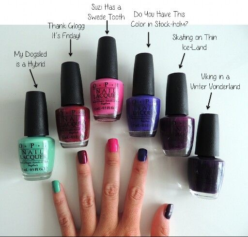 OPI Collection Nordic