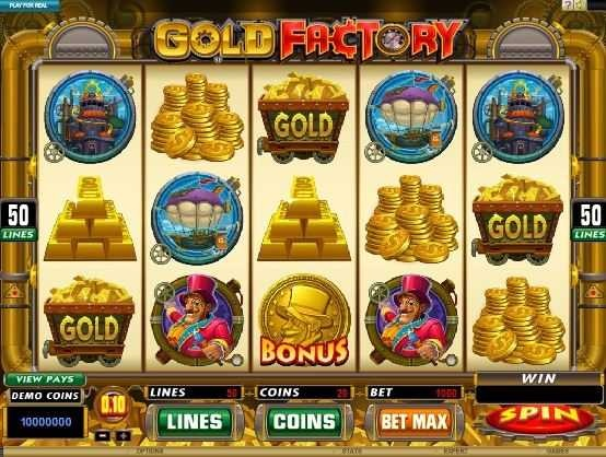gold factory slot game for fun