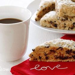 Skinny Chocolate Chip Buttermilk Scones — Recipe from Skinny Taste