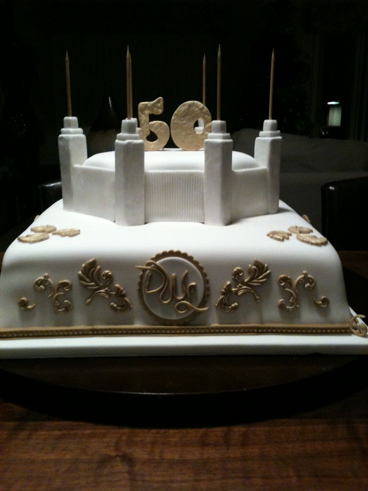 Church Anniversary Cake Images : 50th anniversary cake church golden lisa cake ideas ...