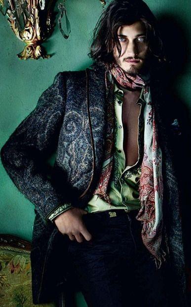 Bohemian mens fashion strapping lads pinterest