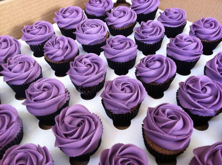 Purple Cupcakes Cupcakes Pinterest