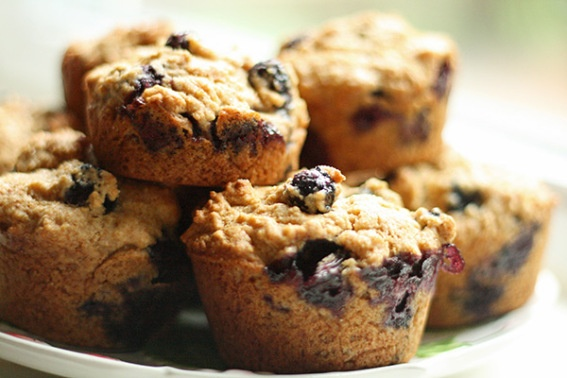 Blueberry Cornmeal Muffins | Recipes | Pinterest