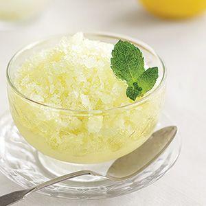 Lemon Granita | Lemon Love | Pinterest