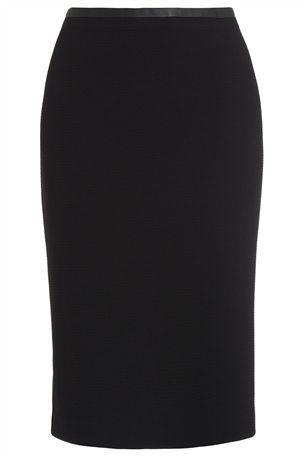 Next - Textured Skirt - Black