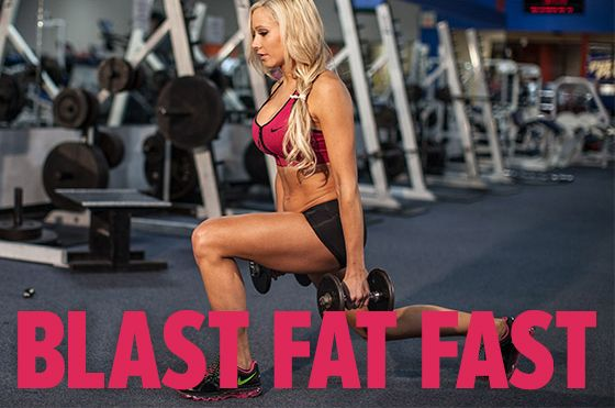 Blast Fat Fast. This workout burns fat and builds muscle. It will kick your butt in minimal time. But, don't be fooled, you'll certainly be covered in sweat by the end! Bodybuilding.com