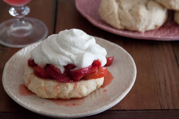 Simple Strawberry Shortcakes from What's Gaby Cooking (http ...