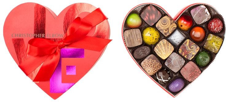 Valentine's Day 20 Piece Heart Box
