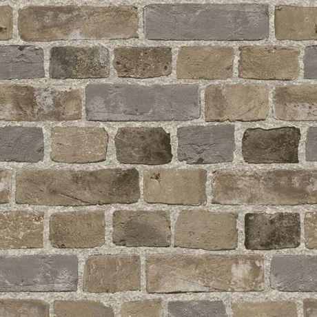 Brick sidewall wallpaper kids art pinterest for Walmart wallpaper