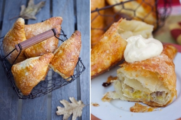 Banana Turnovers with Pastry Cream Filling: A banana cream pie in a ...